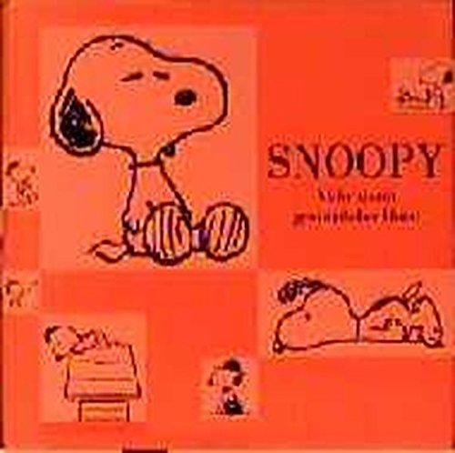 Snoopy: Mehr als ein gewöhnlicher Hund Pappbilderbuch – 1. Mai 2000 Charles M Schulz Manfred Miethe Baumhaus 390948140X