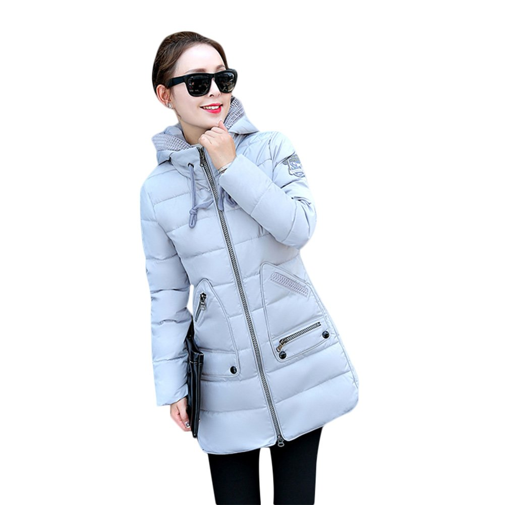 eb92e3f7b015 Rela Bota Women s Winter Faux Fur Hooded Coats Down Parkas Anroaks ...