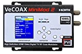 coaxial cable to hdmi modulator - HDMI MODULATOR - PVI MINIMOD 2 - HDMI Video Distribution Over TV Coax Cables To All TVs in Every Room - FULL HD 1080p ENCODING with Dolby