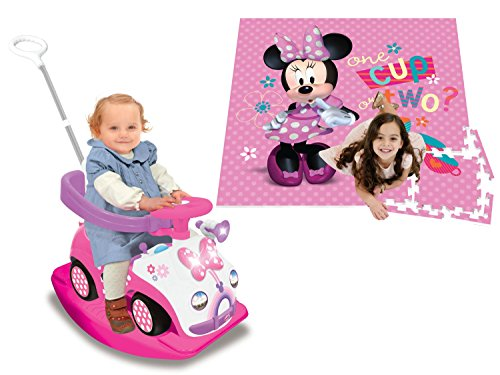 Disney Little John Costume (Kiddieland Disney Minnie Mouse 4-in-1 Activity Push Ride-On and Minnie Mouse 4 x 4 Activity Play Mat)