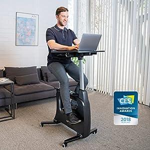 FLEXISPOT Exercise Desk Bike Home Office Height Adjustable Standing Desk Cycle - Deskcise Pro - 2018 CES Innovation… 23