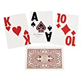 Super Jumbo Playing Cards - Single Deck - Red