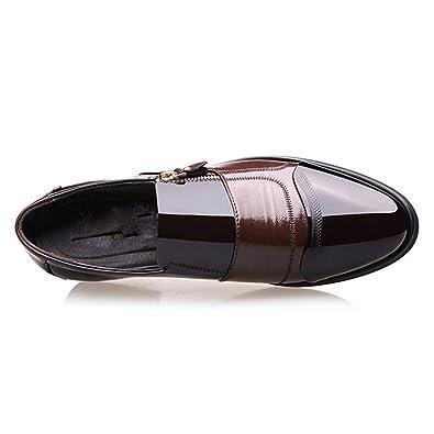 Herren Kleid Schuhe Schwarz Herren Oxford Schuhe Lace Up Casual