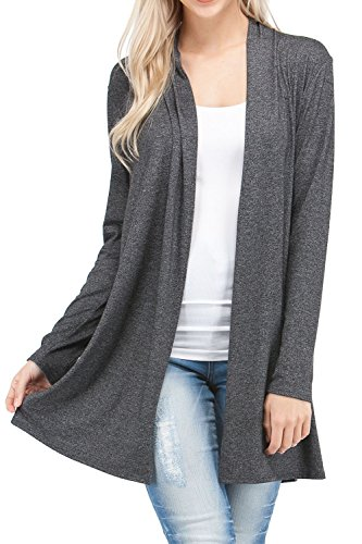 Lightweight Sleeve Cardigan Sweaters Regular