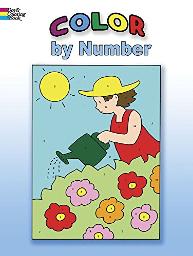 Color by Number (Dover Coloring Books)]()