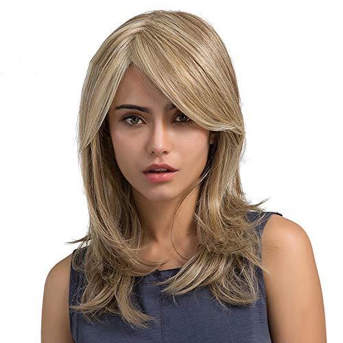 Inkach Womens Long Blond Wig | Ladies Straight