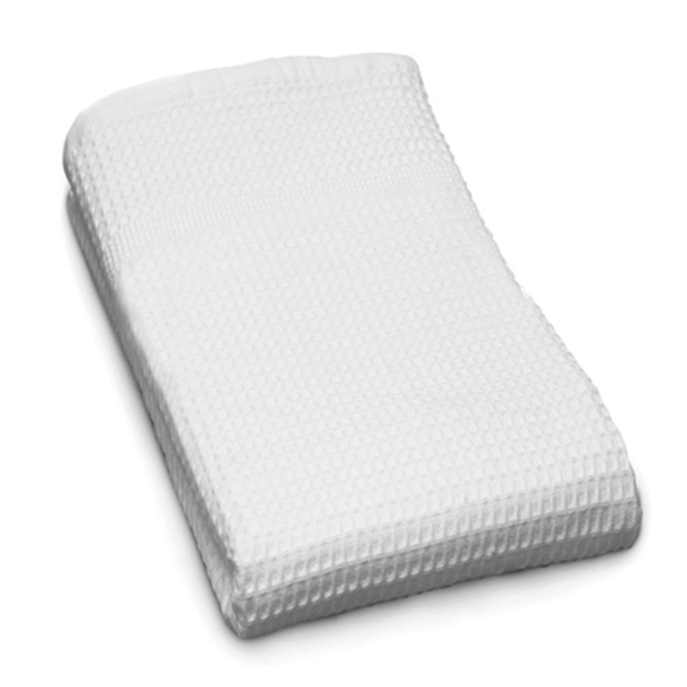 Gilden Tree 100% Natural Cotton Classic Waffle Weave Hand Towel (White)