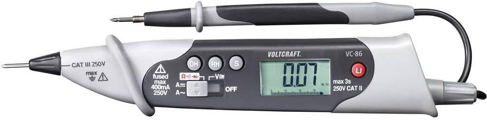 Voltcraft Vc 86 Hand Multimeter Digital Cat Iii 250 V Anzeige Counts 4000 Baumarkt
