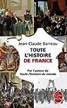 Toute l'histoire de France par Barreau