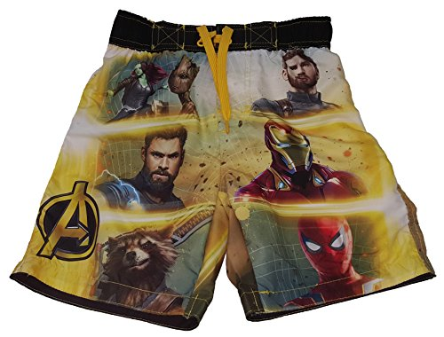 Marvel Comics Avengers Infinity War Swim Trunk - X-Small -