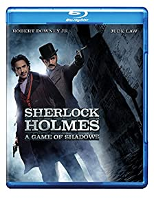 Cover Image for 'Sherlock Holmes: A Game of Shadows (Blu-ray/DVD Combo + UltraViolet Digital Copy)'