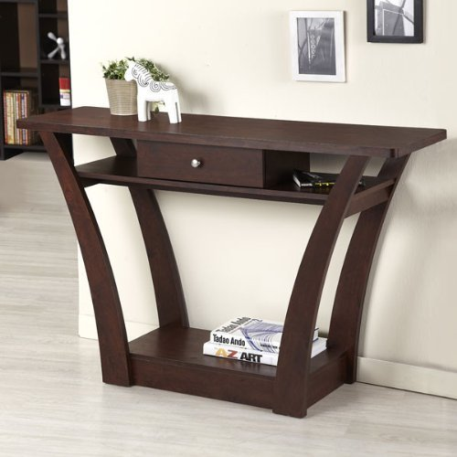 247SHOPATHOME YNJ-117-4, Sofa Table, Walnut