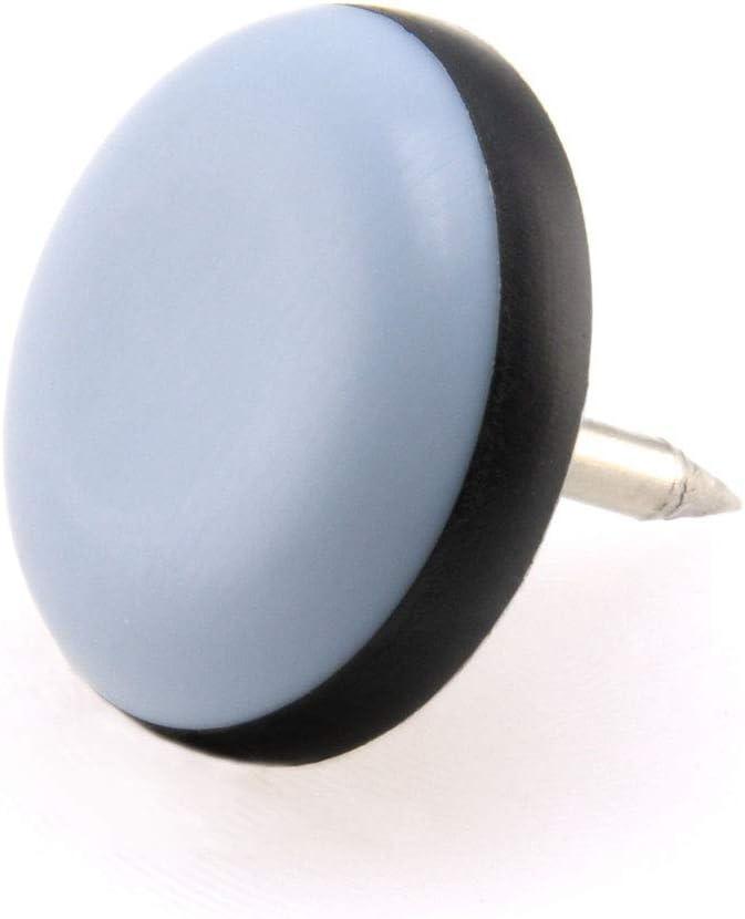 8 x Paliers de but/ée en pTFE avec ongles-/ø 22 mm **t/éflon patins patins de 5 mm d/épaisseur