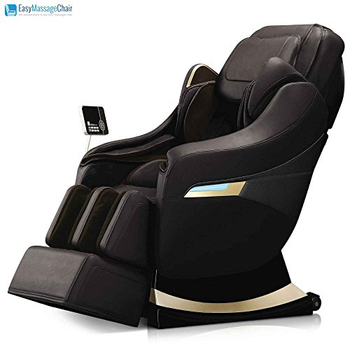 Price comparison product image Titan Pro Executive 3D Heating Foot Roller Body Scan Massage Chair New (Black)