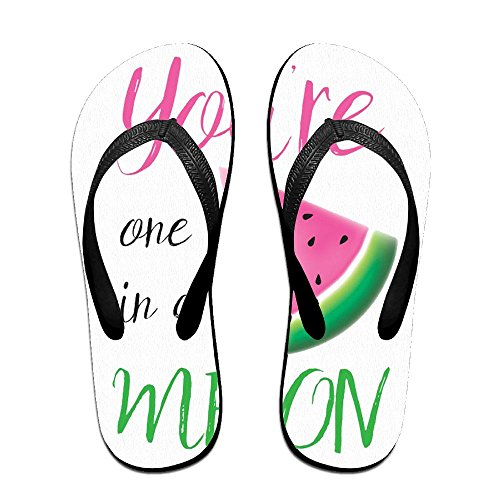 Black for Kids Melon Slippers in A Flip One are Women PTJHKET You Flops Men WROwqzRZS