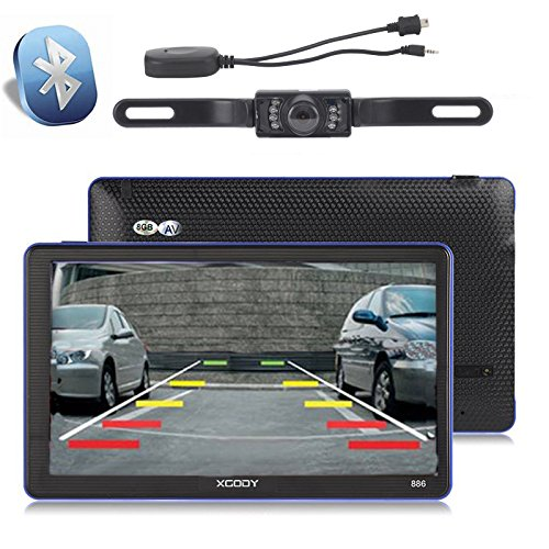 Xgody 886BT Capacitive Touchscreen Navigation