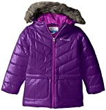 Columbia Big Girls' Katelyn Crest Mid Jacket, Iris Glow, Medium