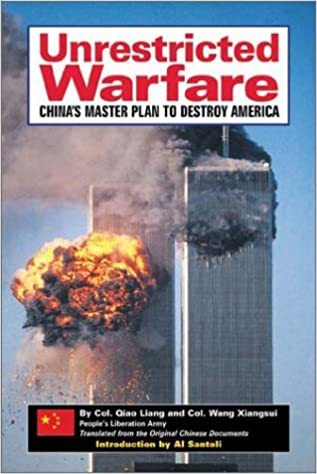 Image result for unrestricted warfare by qiao liang and wang xiangsui