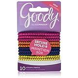 Goody Slideproof Hair Tie Elastics, Digital Space (Pack of 3)