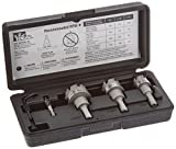 IDEAL 36-311 TKO Carbide Tipped Hole Cutter, 3-Piece Kit