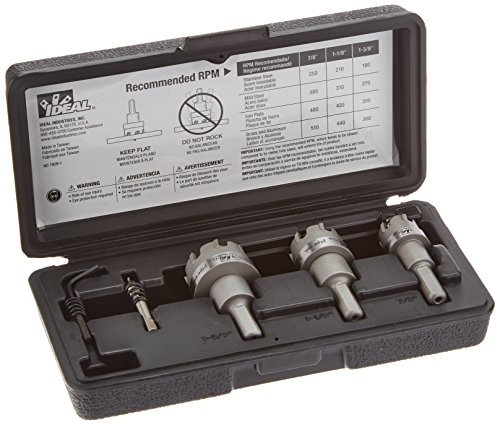 Best ideal carbide hole cutter kit for 2019