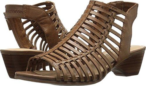 Bella Vita Women's Pacey Wedge Sandal Camel Burnish 12 2W US
