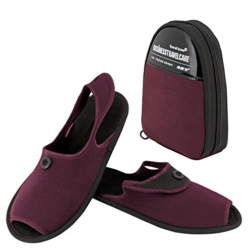 TBC - Zapatillas de estar por casa para hombre negro negro L Red