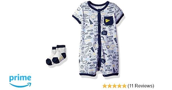 e6963612b Amazon.com  absorba Baby Boys Romper and Sock Set  Clothing
