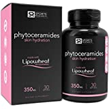 Phytoceramides 350mg made with Clinically Proven Lipowheat® | Plant Derived and GMO free with No Fillers or Synthetic Vitamins - 30 liquid softgels, Made in USA
