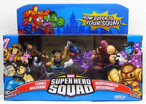 (Marvel Super Hero Squad X-men Unite Juggernaut Attacks)