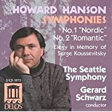 Hanson:Symphonies No. 1 and 2