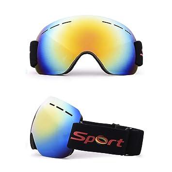Gafas De Esquí Para Adultos Gafas Grandes Esféricas Montañismo Para Hombres Y Mujeres Gafas De Protección