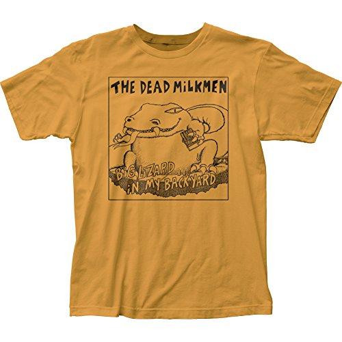 Dead Milkmen Big Lizard Fitted Jersey Tee (Large)