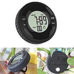 VKTECH Portable Kitchen Clock Digital Countdown Timer Large ScreenTable Alarm