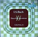 JS Bach XV Three Part Inventions