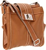 Tignanello Fab Function Cross Body,Cognac,One Size, Bags Central