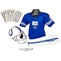 Franklin Sports NFL Indianapolis Colts Youth Licensed Deluxe Uniform Set, Large