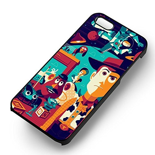 Chic Poster Art Story pour Coque Iphone 7 Case (Noir Boîtier en plastique dur) X4Q5JP