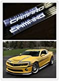 Highitem Pair LED Light Illuminated Door Sill Scuff Plate Cover for GM Chevy Chevrolet Camaro 2010-2016 (White Color LED)