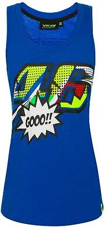 Valentino Rossi Pop Art Camiseta de Tirantes Mujer