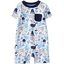 Gymboree Baby Boy Sleeve Shorts One-Piece