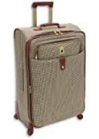 London Fog Luggage Chelsea 25 Inch 360 Expandable Upright Suiter