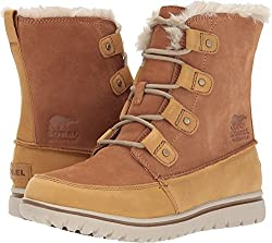 Sorel Womens Cozy Joan Elk Suede Boots