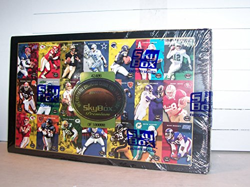 1993 SKYBOX PREMIUM FOOTBALL FACTORY SEALED BOX JEROME BETTIS & STRAHAN ROOKIES