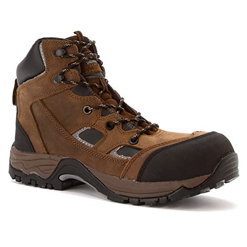 Work Proof Composite MCRAE Horse Boots Puncture Toe Brown Crazyhorse Crazy 1I5wqg5x
