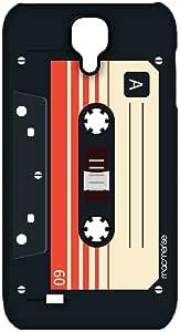 حافظة مامريسي كازيت أسود سبلايم لسامسونج S4