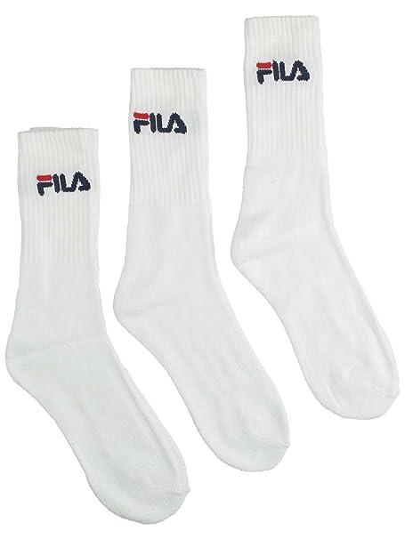 FILA Hombres Ropa interior / Moda de baño / Calcetines 3 Pack Sports blanco 35-