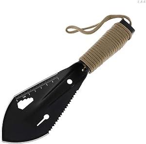 LLSS Stainless Steel Shovel,Gardening Tool, Metal Garden Shovel Edge Excavator Shovel Sheath