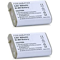 2 Pack - AT&T Cordless Phone Battery Replacement HHR-P103 For AT&T EP5632, TL76008, EP590-2, 103, EP590-3, EP562, 5995, 5962, 5922, 89-1324-00-00, 80-0429-00-00, EP-5962, EP-5962 base, EP-590-2
