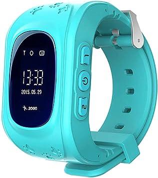 KawKaw Q50 GPS Kids Smartwatch con botón SOS para niños y niñas ...